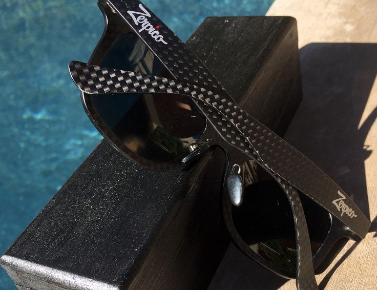 These carbon fiber sunglasses will suit any occasion!