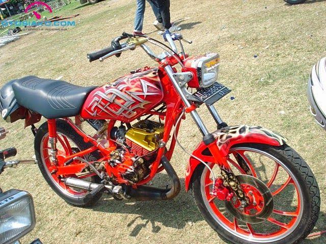 18 Gambar Hasil Modifikasi Yamaha RX-King Terbaru