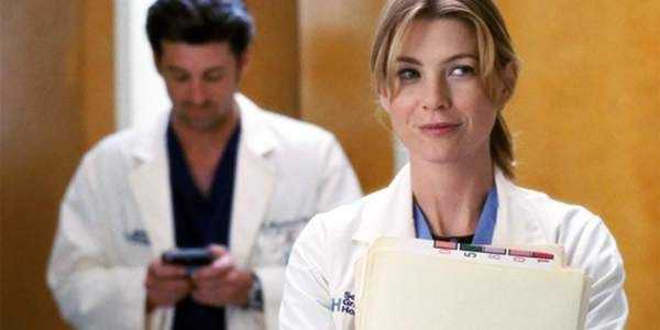 Three clues given to guess each couple from Grey's Anatomy, including couples like Meredith and Derek and Callie and Arizona.