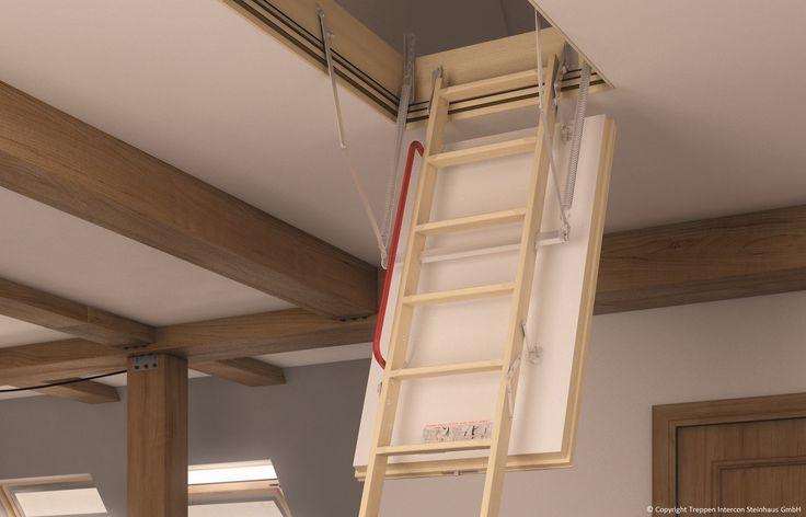 Bodentreppe Fakro LWT bei Treppen Intercon   ab Lager kaufen