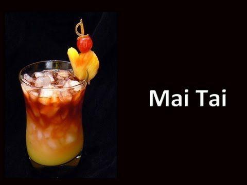 Mai Tai Recipe - Fast and Easy For A Gallon Pitcher