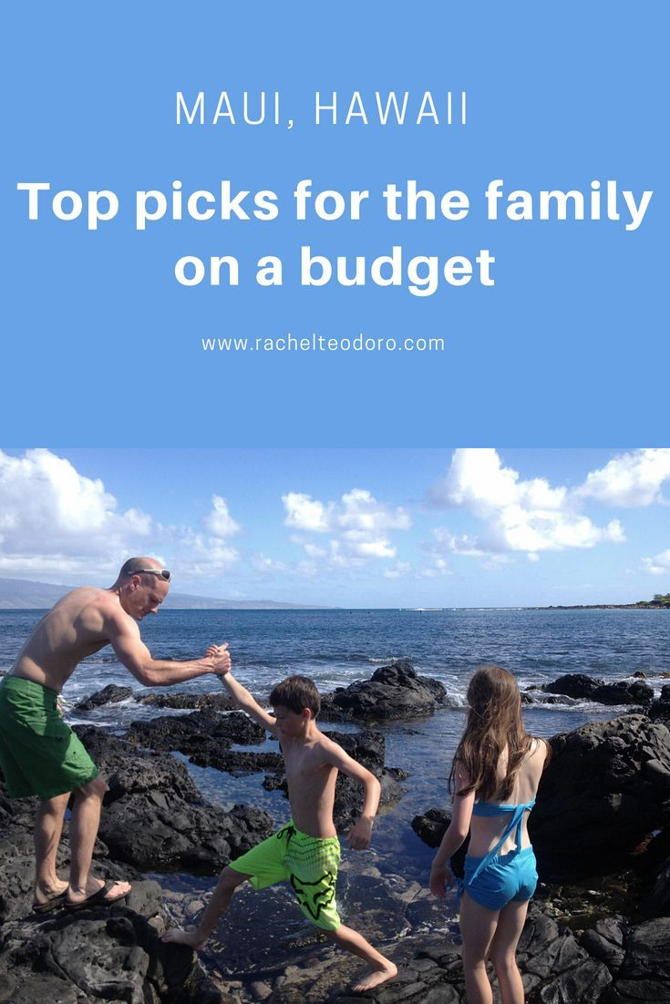 maui hawaii with kids my top picks for things to do on a budget rh pinterest com