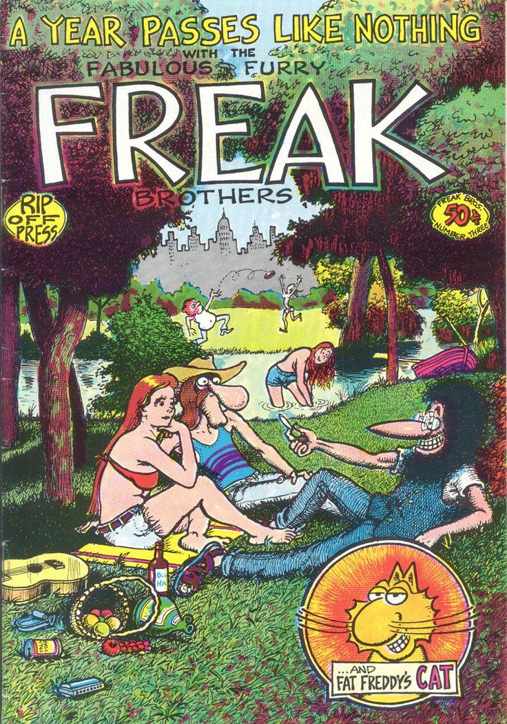 Fabulous Furry Freak Brothers comic book
