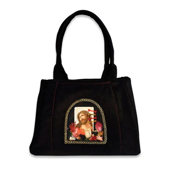 Retro Handbag Black & Gold big  based on the design by VitaOcculta