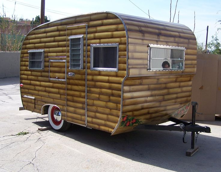 Custom Camping Trailers Old Camping Trailer Camping