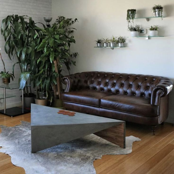 best living room chair%0A    best Concrete triangle coffee table images on Pinterest   Coffee tables   Low tables and Triangle shape