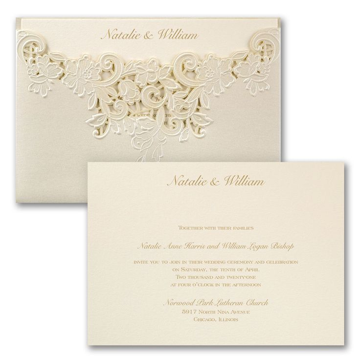 Edged in Elegance Invitation 700 best