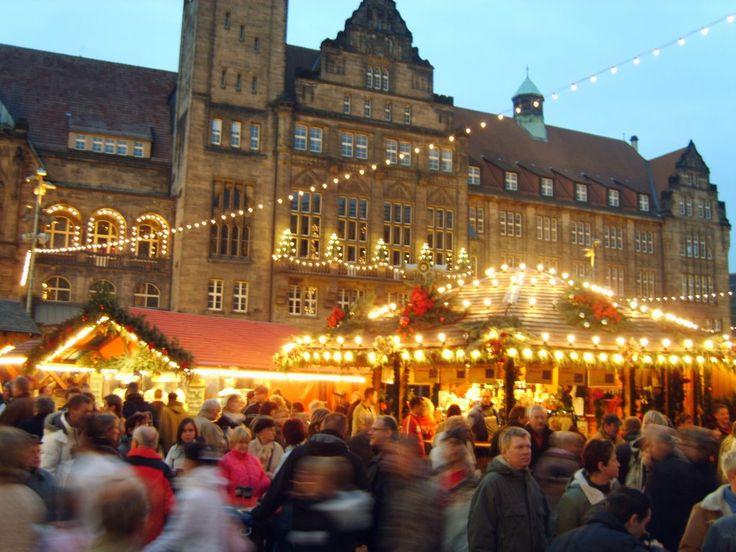 Panoramio - Photo of Weihnachtsmarkt in Chemnitz