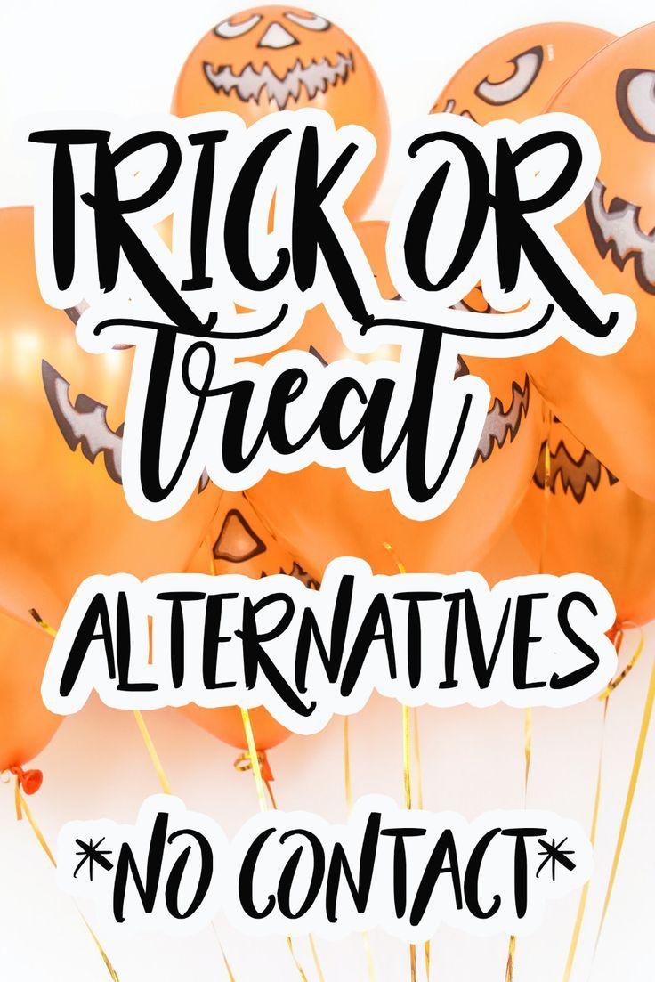 No Contact Halloween Ideas In 2020 Halloween Social Halloween Hacks Halloween Party Kids
