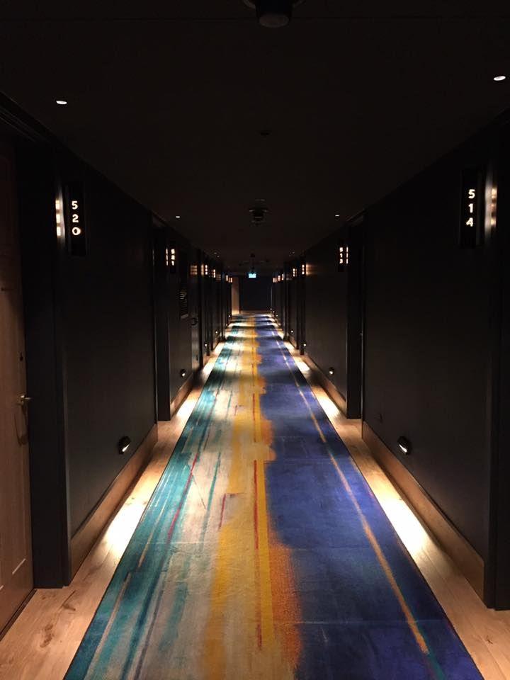 Hotel Guest Hallway