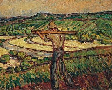 Egry József Hazafelé című festménye
