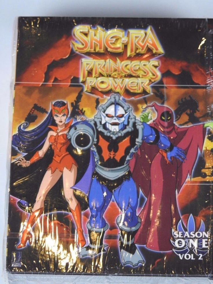She-Ra: Princess of Power - Season 1: Volume 2 (DVD, 6-Disc Set) W/Exclusive Art #HeManandtheMastersoftheUniverse