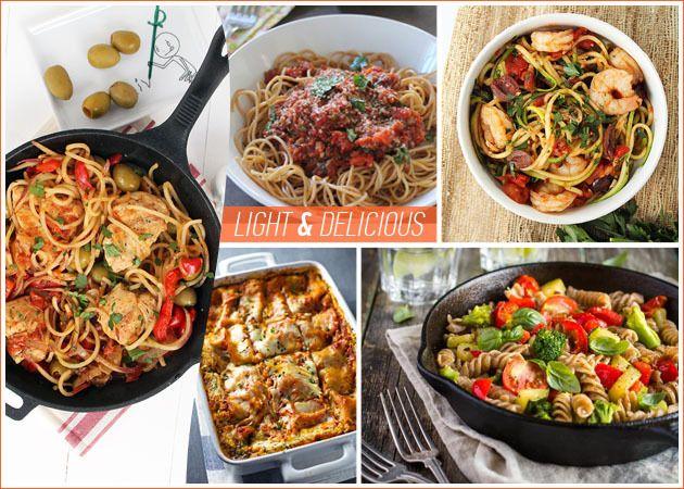 Συνταγές για δίαιτα: Ζυμαρικά με λιγότερες από 300 θερμίδες