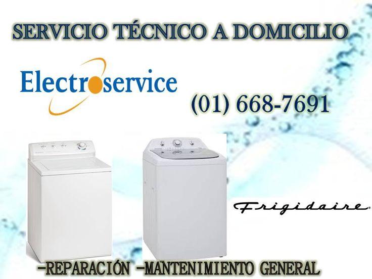 """SERVICIO TÉCNICO PROFESIONAL 988036287 """"LAVADORAS FRIGIDAIRE"""" Nuestro servicio técnico es un servicio a domicilio, Si usted tiene problemas con su lavadora FRIGIDAIRE no dude en llamarnos que nuestros técnicos están disponibles para darle una solución de inmediato a las averías de su artefacto ya sea reparación mantenimiento-instalación-cambios de repuestos. Cualquier consulta llamar a: Fijo: 6687691- 2748107 Celular:988036287 O domingos y feriados: 988036287 Srta.: Ysabel"""