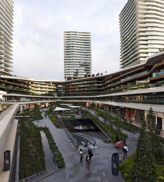 Zorlu Center in Istanbul by Emre Arolat Architects + Tabanlıoğlu Architects