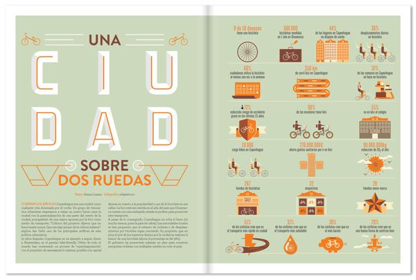 Yorokobu infographics 2012 by relajaelcoco , via Behance