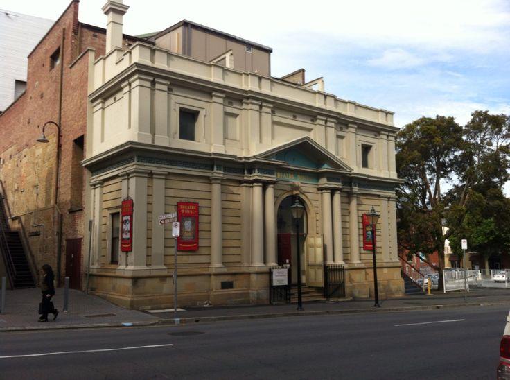 The Theatre Royal, Hobart, Tasmania. Built in 1834 it is Australia's oldest theatre.