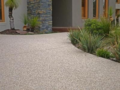 exposed aggregate driveways - Google Search