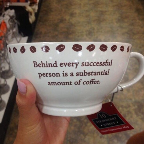 Coffee Maker Person Called : Behind every successful person is a substantial amount of coffee. Coffee Pinterest Coffee ...