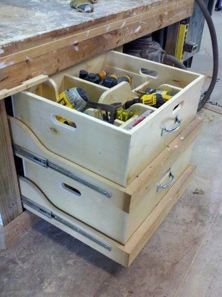 Tool Consolidation And Portability Garage Ideas Man Cave