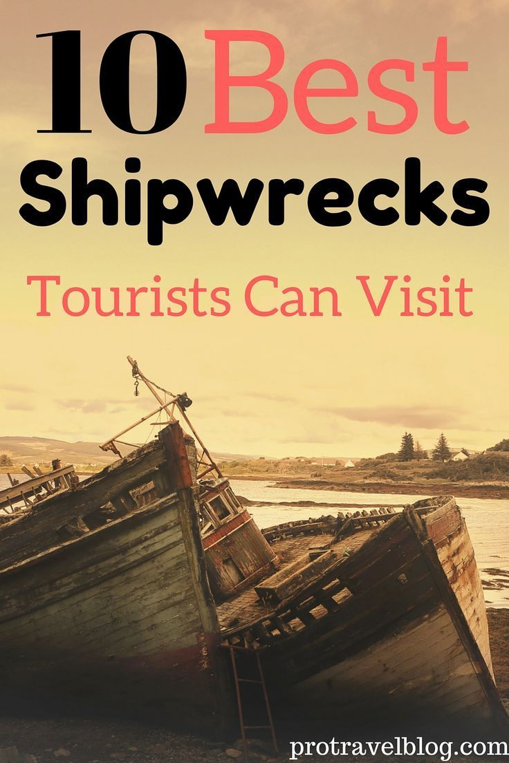 Love a good shipwreck? Here are 10 amazing shipwrecks you can actually visit. They are from all over the world so you have plenty of choices!