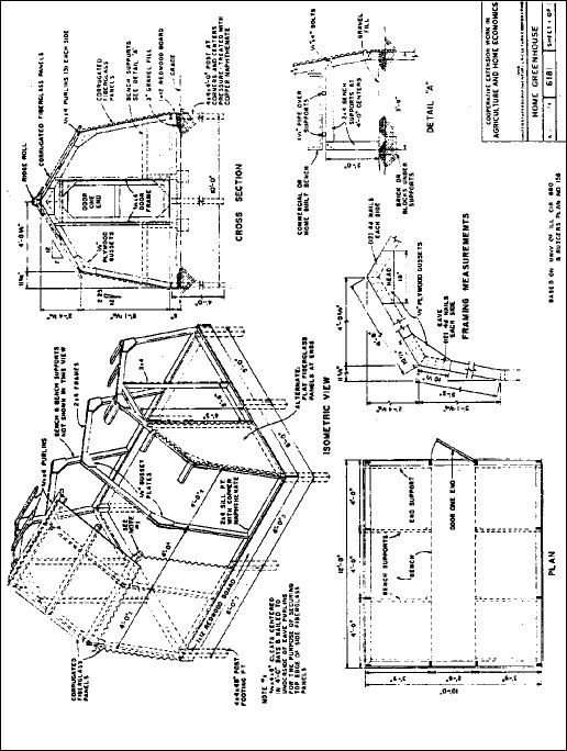 Greenhouse plans plants and flowers pinterest for Greenhouse design plans