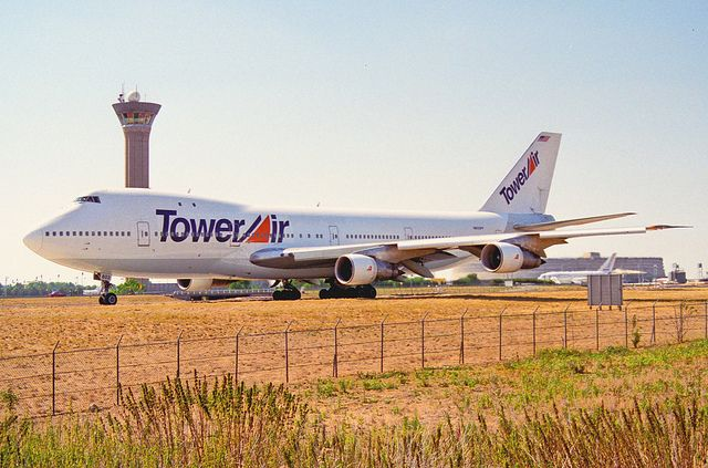 tower air airlines   Tower Air Boeing 747-130; N603FF@CDG;04.08.1996   Flickr - Photo ...