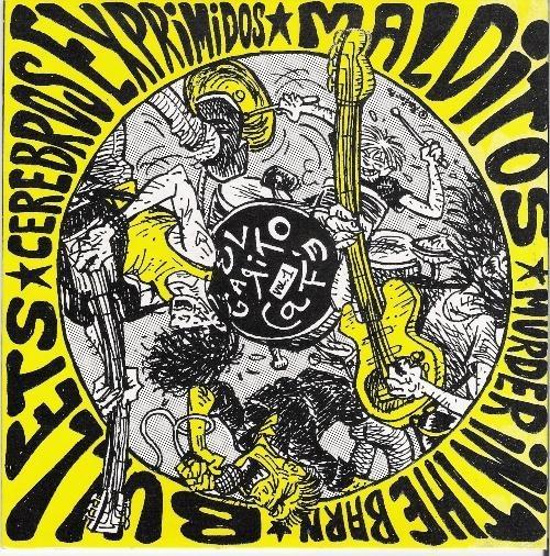 #PORTADA #DISCO #MALLORCA #OCHENTAS #80's #CROWDFUNDING #VERKAMI - El Garito Café Vol.1 1990, Varios Artistas, Discografica: Munster Dibujo de Rafa Murillo - MallorcaNochentas Reinventando los 80s - CD 20 grupos rinden homenaje a 20 grupos de los Nochentas +INFO: www.mallorcanochentas.com  Campaña crowdfunding www.verkami.com/projects/3629