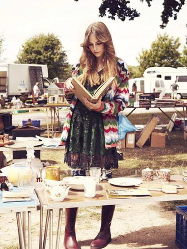 5 Insider Tips for Scoring the Best Vintage Finds at the Flea Market via @MyDomaine