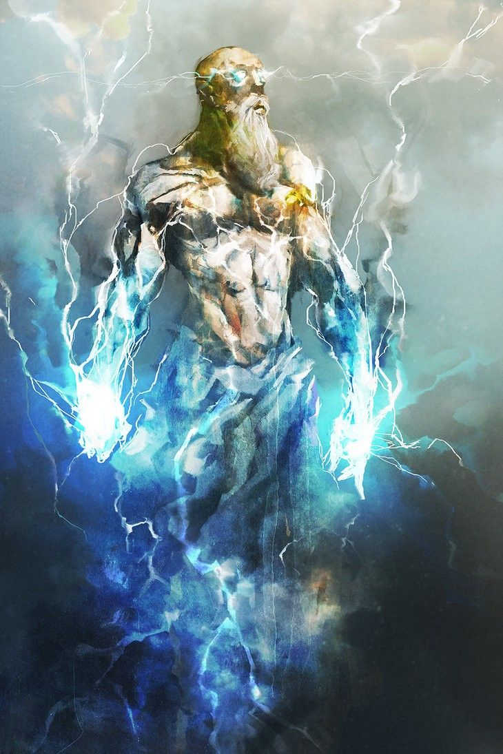 Zeus, Thunder God by cobaltplasma on DeviantArt | Zeus god ...