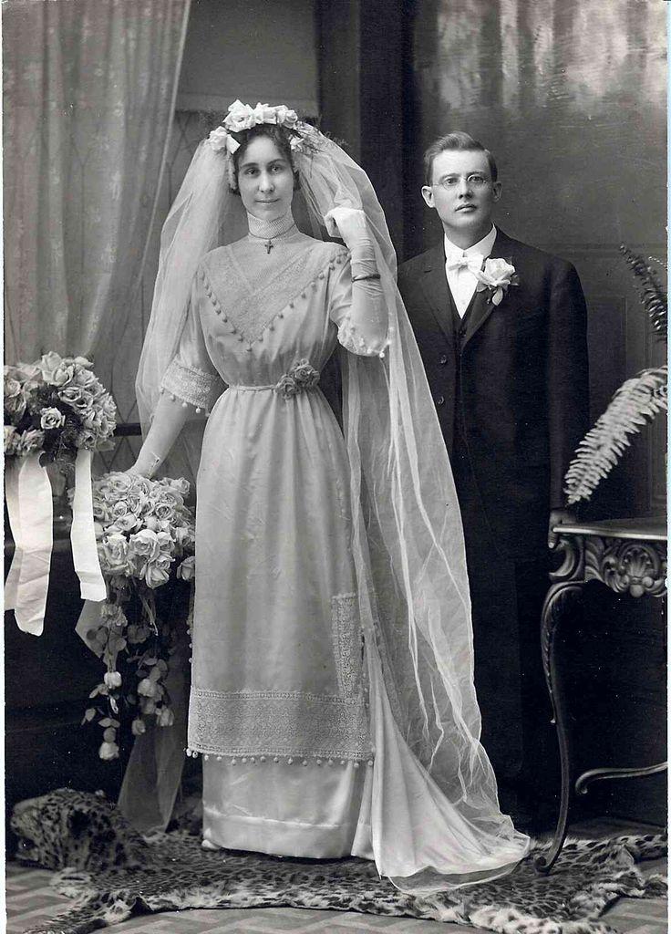 Wedding Photo, c.1910-1911