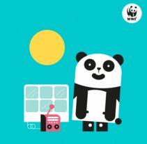 WWF España Christmas 2016. Un proyecto de Ilustración, Animación y Diseño de personajes de Del Hambre  - Miércoles, 21 de diciembre de 2016 00:00:00 +0100