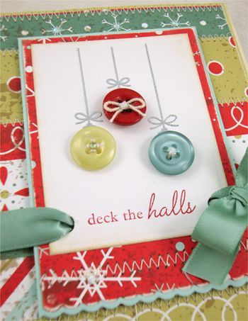 Ornament Button Trio - Thinking Inking
