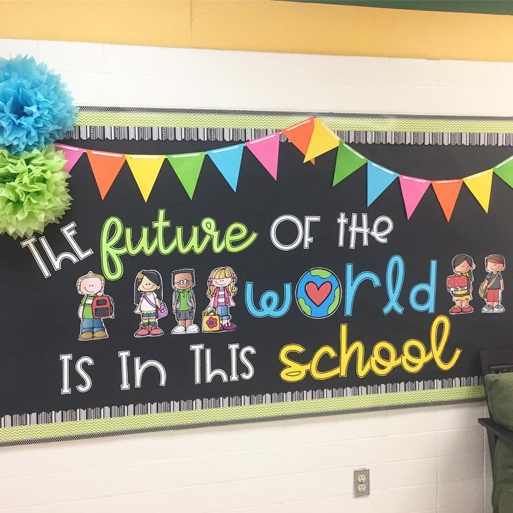 every time i go by this bulletin board i can u2019t help but smile  the future of the world  ud83c udf0e is in
