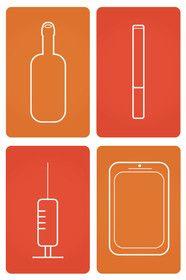 Illustration Wedstrijd Indiening #11 voor Smartphone addict illustration or cartoon. Design single-panel illustration or cartoon symbolizing a smartphone addict (multiple winners possible).