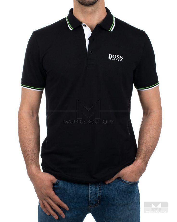 Polos Hugo Boss ® Negro Paddy Pro - WH | ENVÍO GRATIS