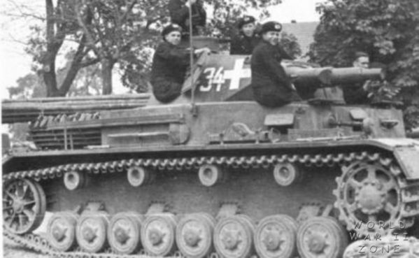 Panzer IV Ausf. B  The suspension shown here on this early model Pz. IV proved so durable it remained unaltered on subsequent Pz. IV models throughout the war.