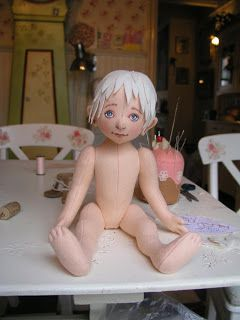 Pip's poppies: doll making part 2 Cloth dolls