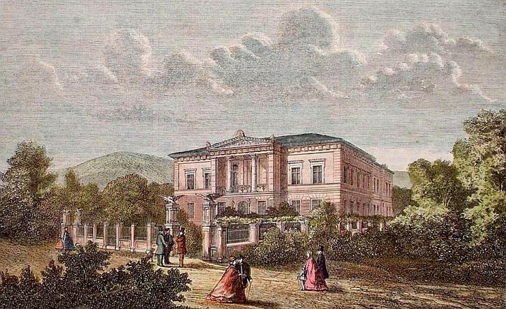 Tak wyglądał cieplicki szpital pod koniec XIX wieku.