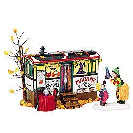 "Department 56: Snow Village Halloween - ""Costumes For Sale"" - #56.54973 - $60.00 - Intro Dec 1998 - Retired Dec 2002"