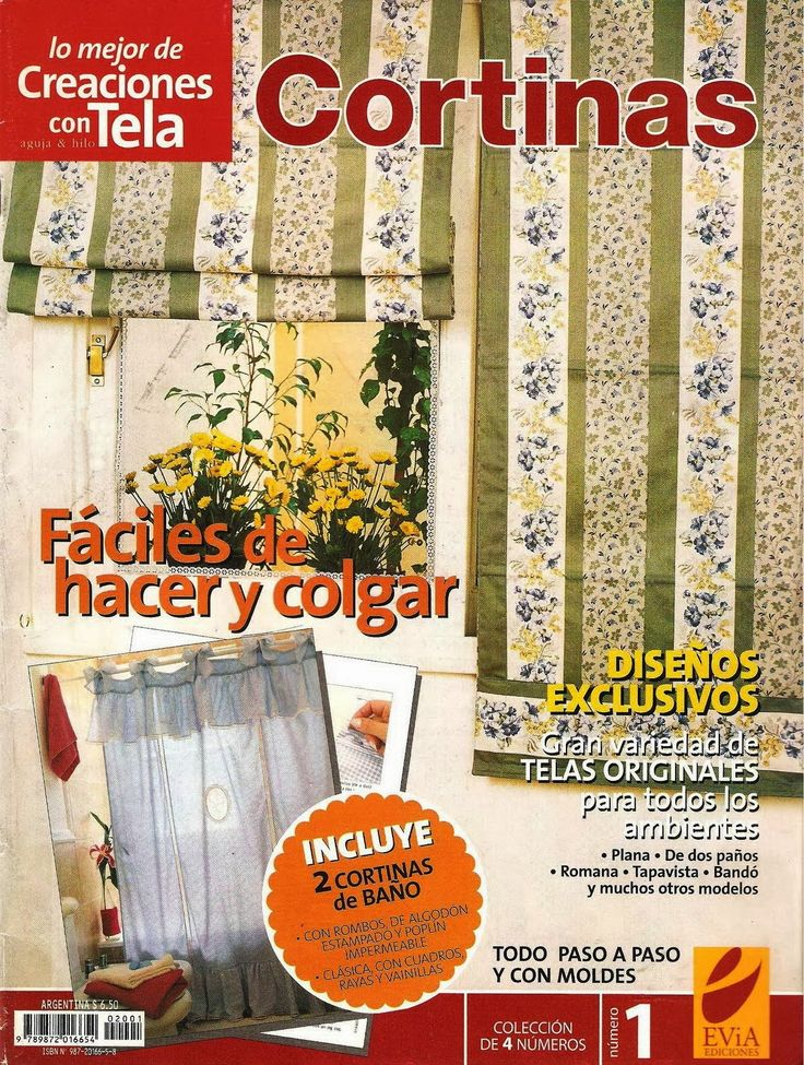 Revistas de manualidades Gratis: Cortinas