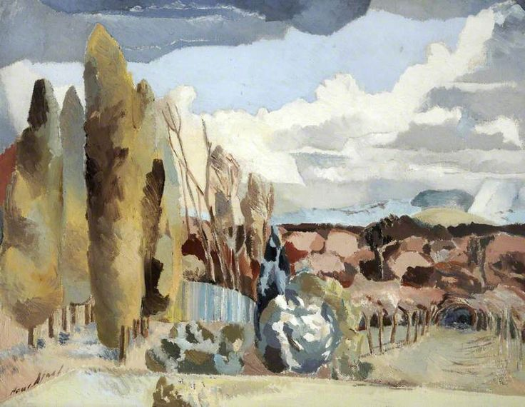 March Landscape (1944) by Paul Nash