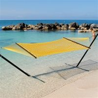 Caribbean Rope Hammock (Yellow) $84.99