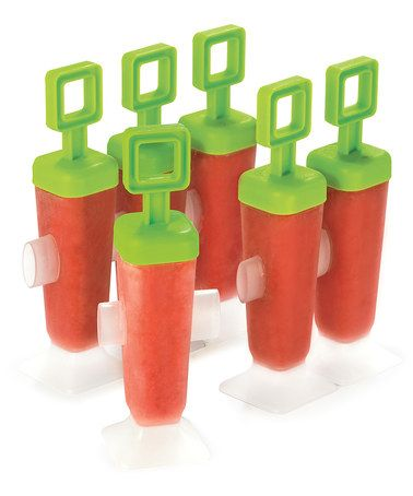 Take a look at this Square Popsicle Mold - Set of Six by Cuisipro on #zulily today!