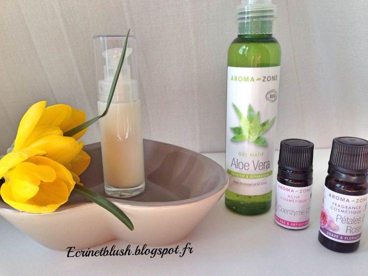 Ecrin et blush: FLUIDE MATIFIANT A LA COENZYME 10 - Très facile à faire pour peau mixte ou grasse.