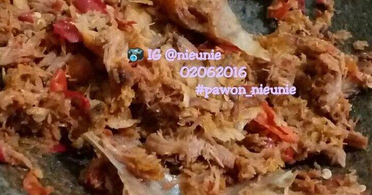 Resep Iwak pe (ikan pari) sambel kencur favorit.