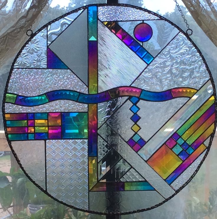 512 Best Stained Glass Geometric Images On Pinterest