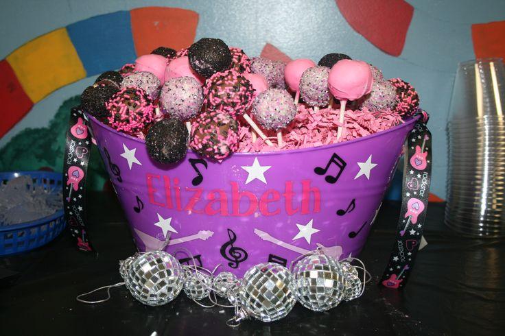 Rock Star Cake Pops