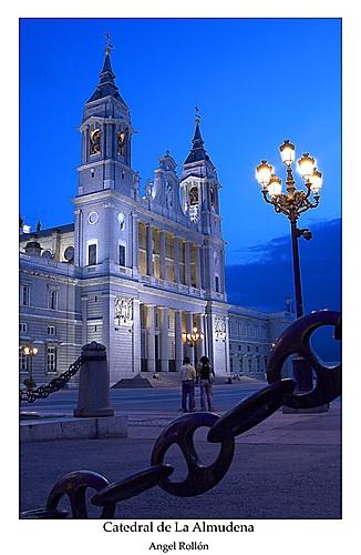 Santa María la Real de La Almudena  State Cathedral.  Madrid, Spain.