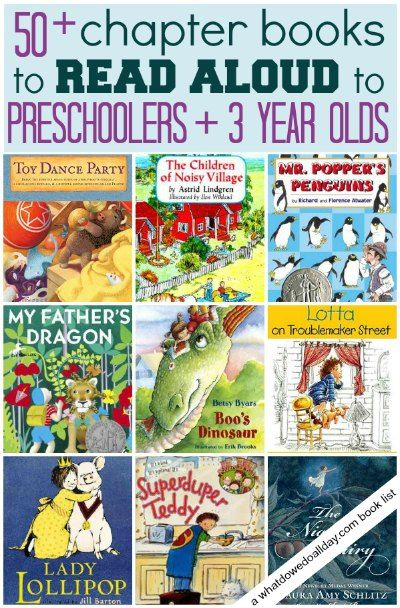 Is your preschooler ready for a chapter book? Try one of these.